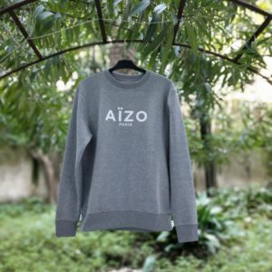 Sweat Aïzo Graff Gris