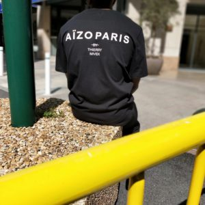 Tshirt Aïzo Paris By Thierry Mivek