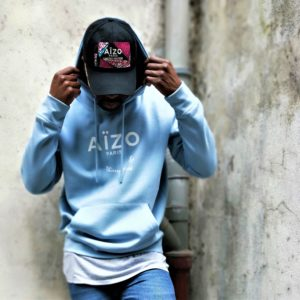 Hoodie Aïzo Paris sign by Thierry Mivek